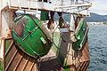 Áncoras dunha embarcación pesqueira no porto de Muros. Galiza MU43.jpg
