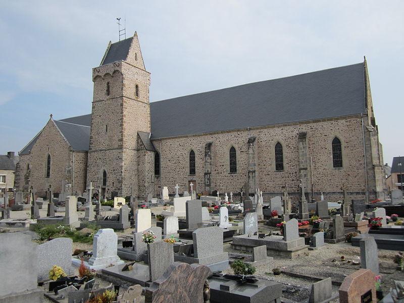 File:Église Sainte-Trinité de Créances.JPG