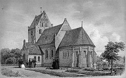 Øer 09 Sønder Alslev Kirke SØ 1867.jpg