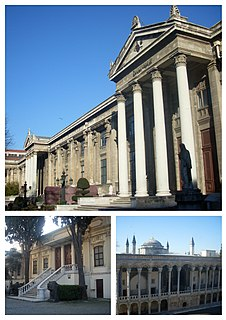 Archaeology museum in Istanbul, Turkey
