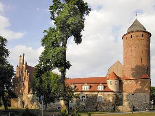 Świdwin Place in West Pomeranian, Poland