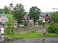 Špindlerův Mlýn, náměstí, pohled přes řeku.jpg
