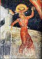 Άγιοι Απόστολοι Θεσσαλονίκης. Ο χορός της Σαλώμης. Τοιχογραφία της δεύτερης δεκαετίας του 14ου αιώνα.jpg