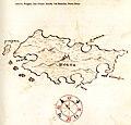 Χάρτης της νήσου Σόλτα στην Κροατία - Antonio Millo - 1582-1591.jpg