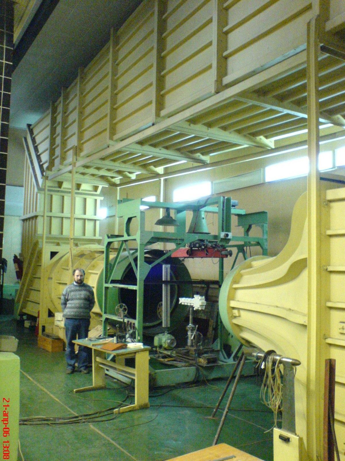 вертикальная аэродинамическая труба в украине