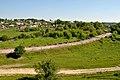 Дичків - Вигляд на село - Автошлях С201502 та річка Гнізна - 16053202.jpg