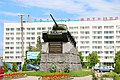 Житомир, Площа Перемоги, Пам'ятник на честь визволення м. Житомира від фашистських загарбників.jpg