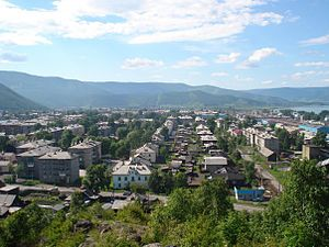 Slyudyanka - View of Slyudyanka