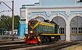 ТЭМ2-5140, Россия, Томская область, станция Томск-II (Trainpix 136670).jpg