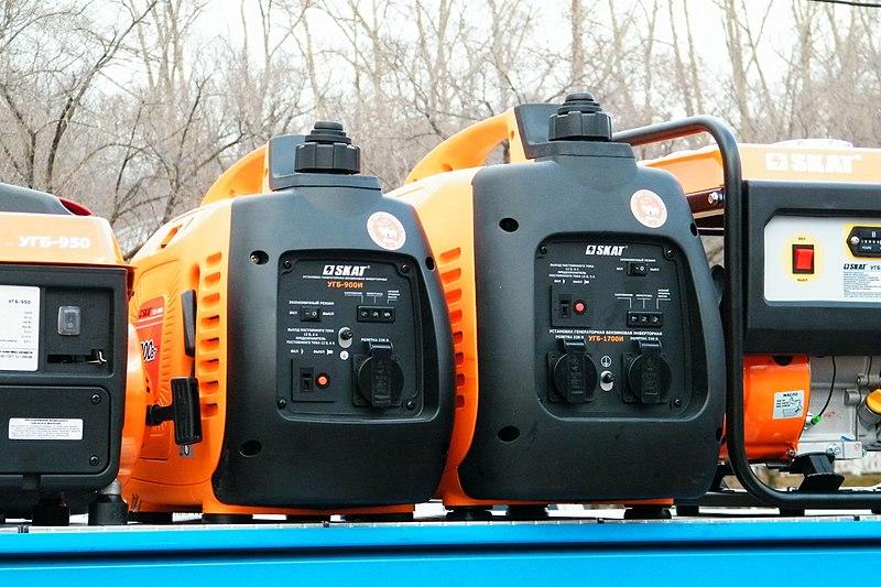 File:Установка генераторная бензиновая инверторная.JPG