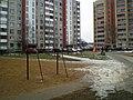 У двары дамоў №№93 і 97 па вул. Суворава - panoramio.jpg