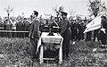 איטליה - מר שרת בטקס הנפת הדגל של הבריגדה היהודית-JNF040195.jpeg