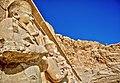 تمثال رمسيس الثاني بمعبد الدير البحري.jpg