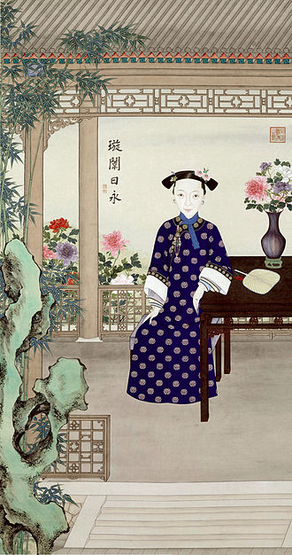 Empress Dowager Cixi - Portrait of Empress Dowager Ci'an (co-regent with Cixi), with whom Cixi staged the Xinyou Coup.