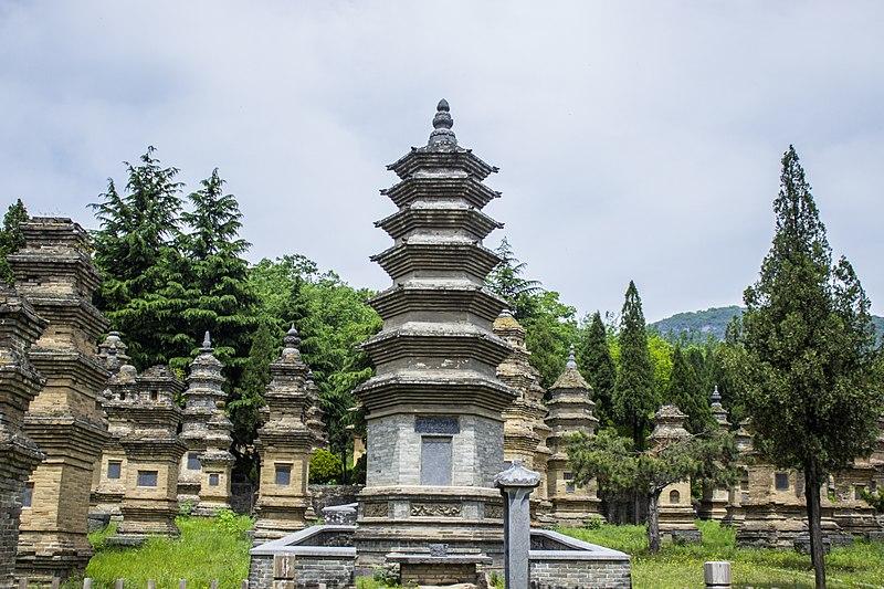 少林寺塔林(图片来源:维基百科)