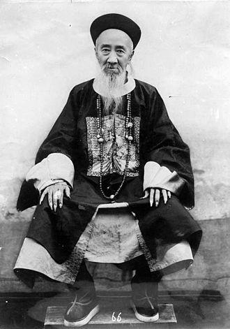 Zhang Zhidong - Zhang in official robes
