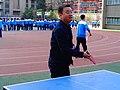 雁塔 陕师大附中分校在打乒乓球 10.jpg