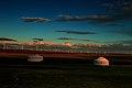 霞光映照下的蒙古营子【路人】 - panoramio.jpg