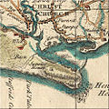 --PD-self--File-Map of Hengistbury Head by Isaac Taylor 1759.jpg