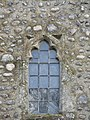 -2019-01-23 Small window in the Bell tower of Saint Mary's parish church, Kelling.JPG