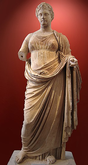 Themis - Themis of Rhamnous, Attica, by the sculptor Chairestratos, c. 300 BCE
