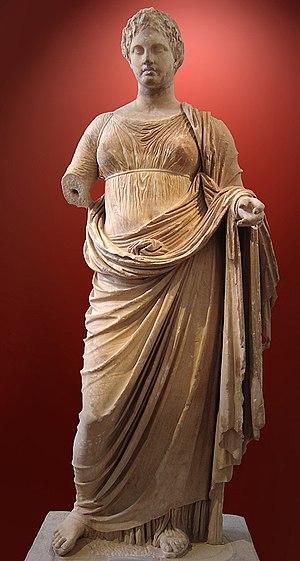 Rhamnous - Statue of Themis, Athens Museum