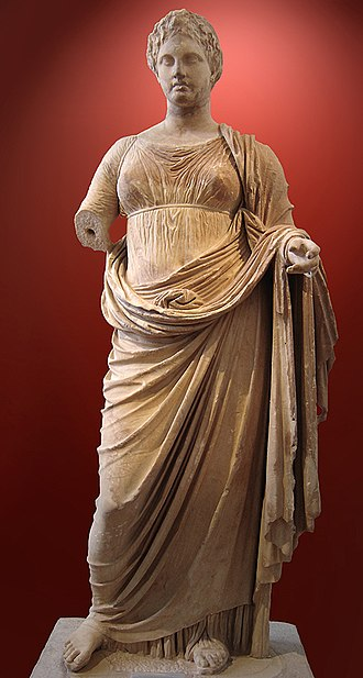Rhamnous - Themis of Rhamnous, Athens Museum