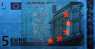 5 euro note - Obverse