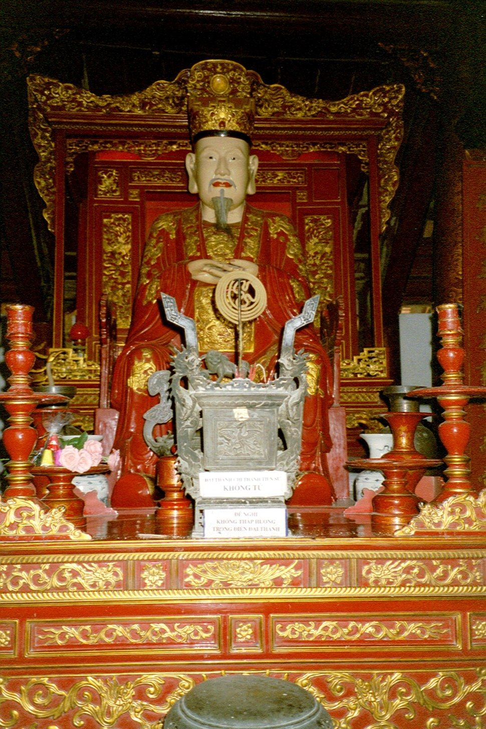 027 Văn Miếu -Temple of literature - Buddha C
