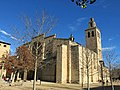 069 Monestir de Sant Cugat del Vallès, angle sud-oest.JPG