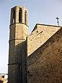 082 Santa Maria de Pedralbes, torre campanar.jpg