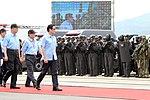 1000629總統於台北港視察「2011金華演習」實兵演練.5886509696.jpg