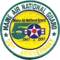 101st Air Refueling Wing 50th Anniversary patch.png
