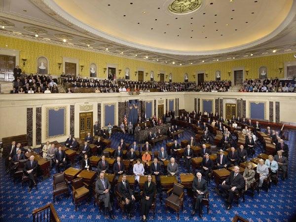 110th US Senate class photo