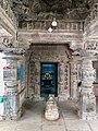 11th century Panchalingeshwara temples group, Kalyani Chalukya, Sedam Karnataka India - 75.jpg