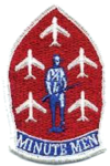 120th Fighter-Interceptor Squadron Minutemen Aerial Demonstration Team - Emblem.png