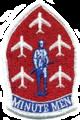 120th Fighter-Interceptor Squadron Minutemen Aerial Demonstration Team - Emblem.png