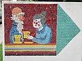 1210 Aistgasse 8-30 - Mosaik-Wegweiser (11) von Hilde Leiter 1969 IMG 3528.jpg