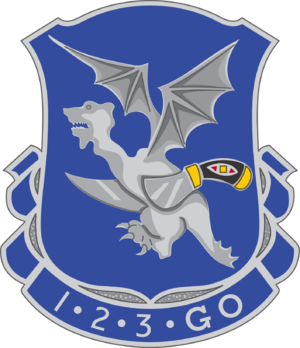 123rd Infantry Regiment (United States) - Image: 123 Inf Rgt DUI