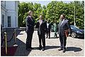 150608 Koenders ontvangt president Kikwete van Tanzania 2.jpg