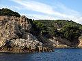 155 Punta de Giverola, al fons el cap des Pentiner (Tossa de Mar).JPG