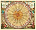 1660 Copernican astronomical chart in the form of the concentric circles.jpg
