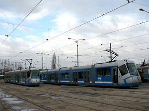 Škoda 16 T - Image: 16T Wroclaw 3001 3002