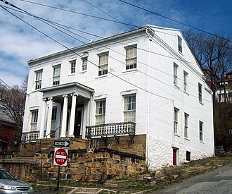 National Register of Historic Places listings in Allegany County, Maryland - Image: 16 Altamont Terrace Mar 11