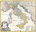 1742 Homann Heirs Map of Italy - Geographicus - Italia-homannheirs-1742.jpg