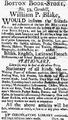 1792 WilliamPBlake BostonBookStore ColumbianCentinel Nov7.png