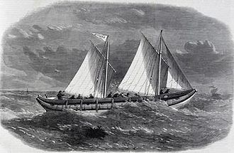 Royal National Lifeboat Institution lifeboats - An 1863 tubular lifeboat from New Brighton