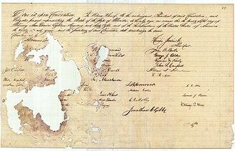 Jonathan Clarkson Gibbs - The 1868 Florida Constitution, signed by Jonathan Clarkson Gibbs.