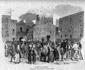 1870-04-27, La Ilustración de Madrid, Sucesos de Barcelona, Gracia, Quema de los documentos de la Estadística, Pellicer.jpg