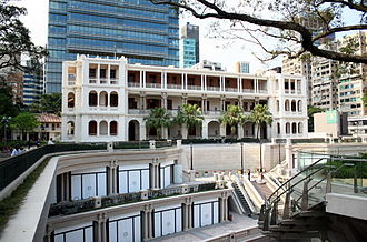 Heritage conservation in Hong Kong - Adaptive reuse: the Former Marine Police Headquarters Compound, a declared monument, is being transformed into a heritage hotel with food and beverage outlets, and retail facilities.